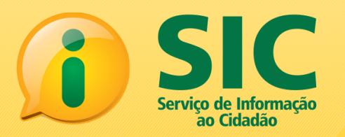 SIC - Serviço de Informação ao Cidadão