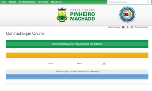 Prefeitura lança sistema de contacheque online