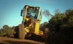 Secretaria de Obras realiza manutenção de estradas no Passo da Olaria e próximo da Vila Umbus