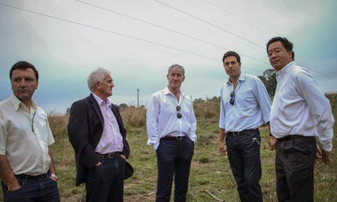 Presidente do Fundo Castlepines, investidor da Pellco Brasil, visita Pinheiro Machado
