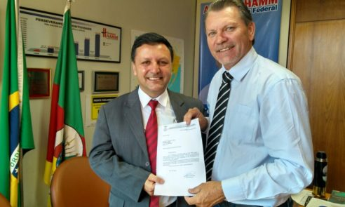 Vice-prefeito Jackson Cabral cumpre agenda em Brasília